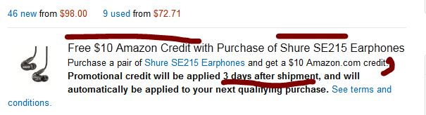 shure_se215_amazon_promotional_credit